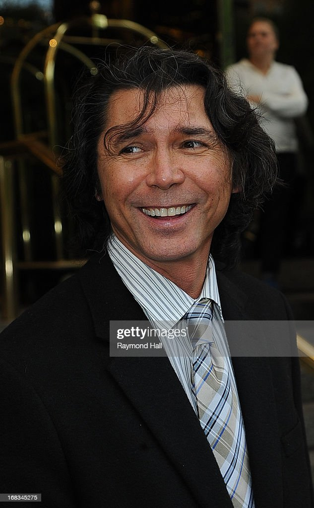 Actor Lou Diamond Phillips is seen outside the Trump Hotel on May 8, 2013 in New York City.
