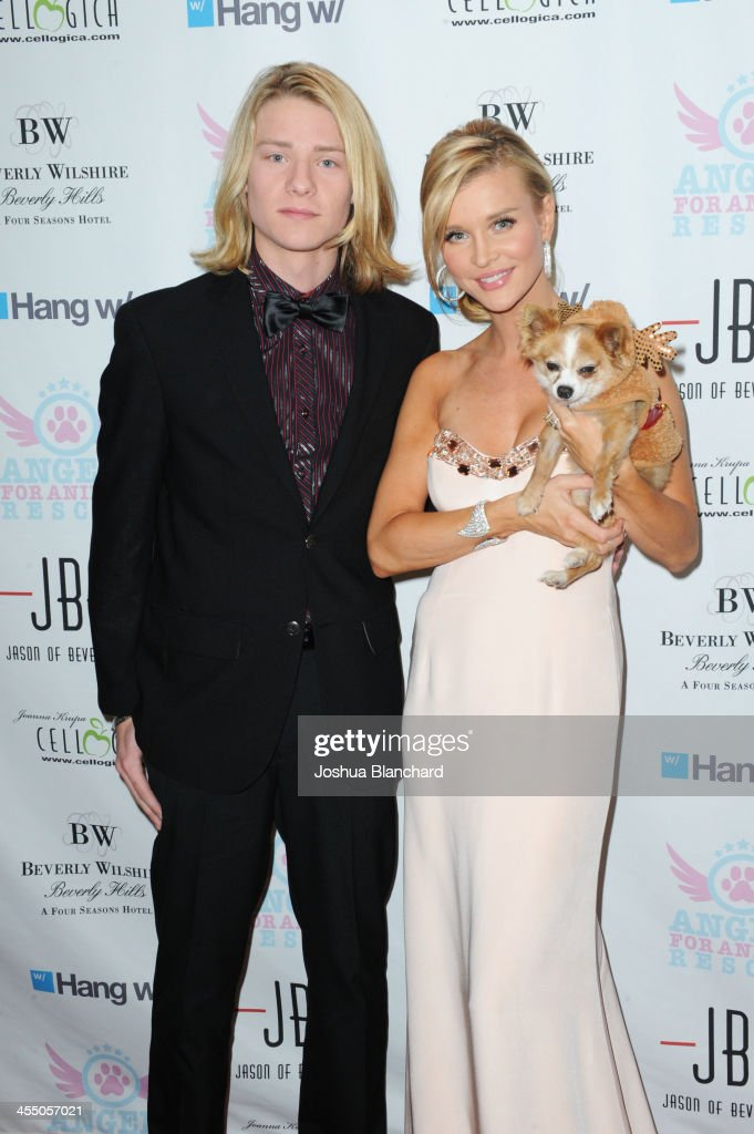 Actor Lou Wegner (L) and <a gi-track='captionPersonalityLinkClicked' href=/galleries/search?phrase=Joanna+Krupa&family=editorial&specificpeople=224038 ng-click='$event.stopPropagation()'>Joanna Krupa</a> arrive at Angels For Animal Rescue benefit hosted by <a gi-track='captionPersonalityLinkClicked' href=/galleries/search?phrase=Joanna+Krupa&family=editorial&specificpeople=224038 ng-click='$event.stopPropagation()'>Joanna Krupa</a> at the Beverly Wilshire Four Seasons Hotel on December 10, 2013 in Beverly Hills, California.