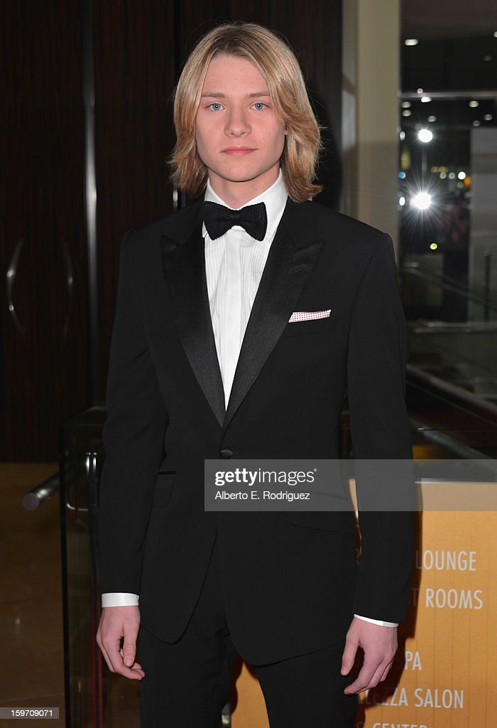 Actor Lou Wegner arrives to the 10th Annual Living Legends of Aviation Awards at The Beverly Hilton Hotel on January 18, 2013 in Beverly Hills, California.