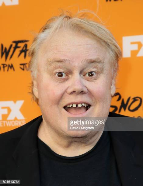 Actor Louie Anderson attends the premiere of FX's 'Snowfall' at The Theatre at Ace Hotel on June 26 2017 in Los Angeles California