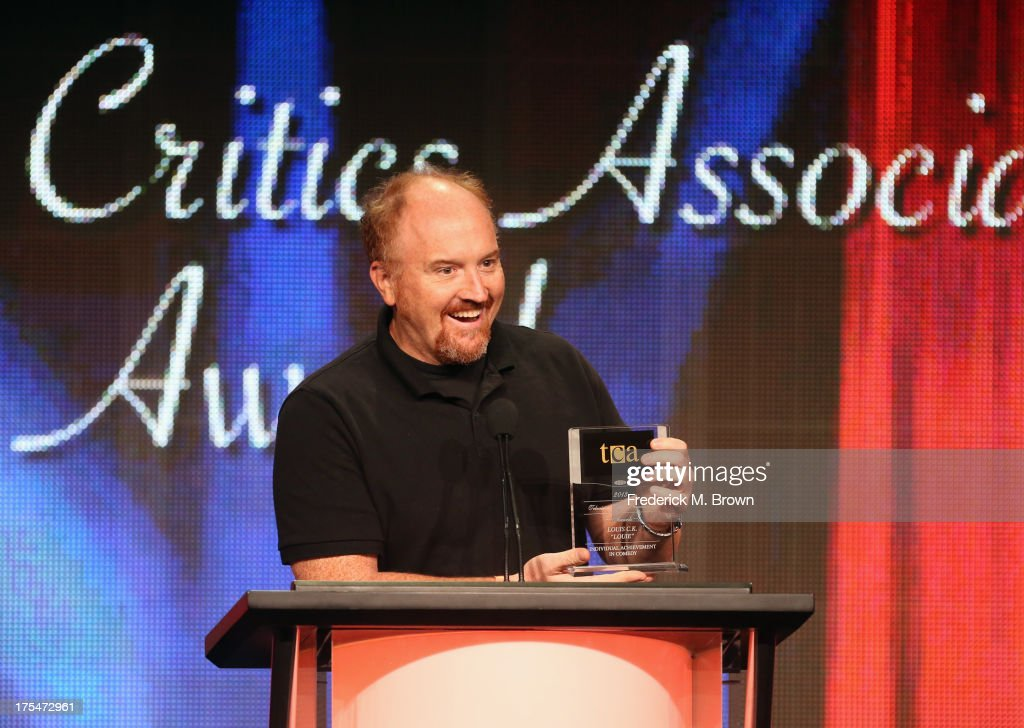 Actor <a gi-track='captionPersonalityLinkClicked' href=/galleries/search?phrase=Louis+C.K.&family=editorial&specificpeople=2538284 ng-click='$event.stopPropagation()'>Louis C.K.</a> attends the 29th Annual Television Critics Association Awards at the Beverly Hilton Hotel on August 3, 2013 in Beverly Hills, California.