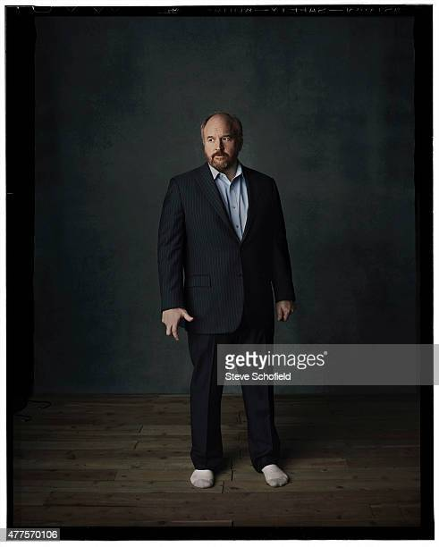 Actor Louis CK is photographed for Emmy magazine on December 1 2014 in Los Angeles California