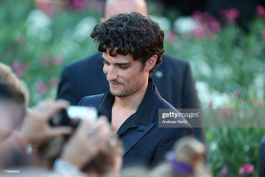 Actor <a gi-track='captionPersonalityLinkClicked' href=/galleries/search?phrase=Louis+Garrel&family=editorial&specificpeople=868484 ng-click='$event.stopPropagation()'>Louis Garrel</a> attends the 'Jealousy' Premiere during the 70th Venice International Film Festival at the Palazzo del Cinema on September 5, 2013 in Venice, Italy.