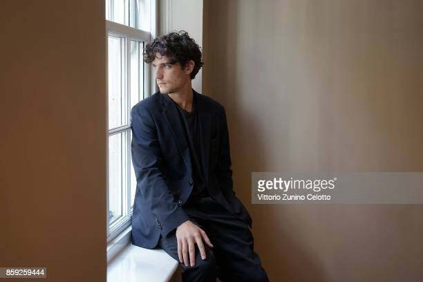 Actor Louis Garrel is photographed during the 61st BFI London Film Festival on October 8 2017 in London England
