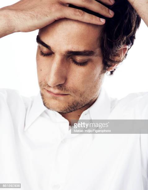 Actor Louis Garrel is photographed for Madame Figaro on August 25 2017 in Paris France Shirt PUBLISHED IMAGE CREDIT MUST READ Matias...