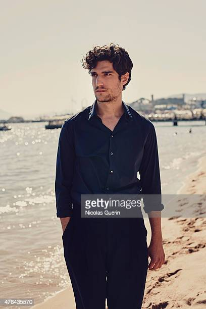 Actor Louis Garrel is photographed for Self Assignment on May 15 2015 in Cannes France