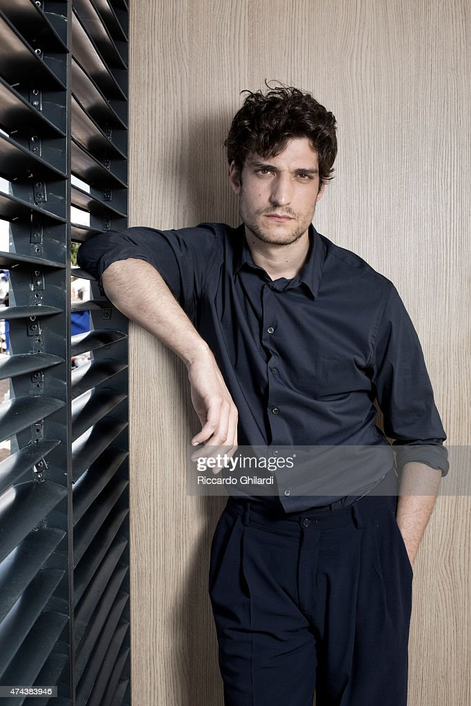 Actor <a gi-track='captionPersonalityLinkClicked' href=/galleries/search?phrase=Louis+Garrel&family=editorial&specificpeople=868484 ng-click='$event.stopPropagation()'>Louis Garrel</a> is photographed on May 17, 2015 in Cannes, France.