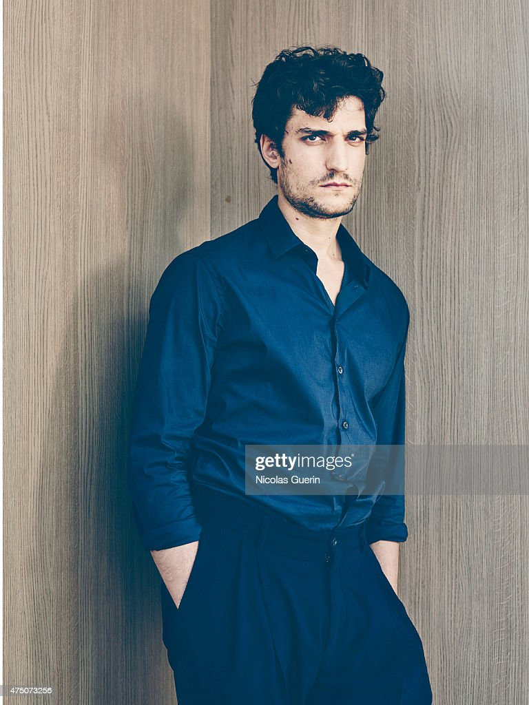 Actor <a gi-track='captionPersonalityLinkClicked' href=/galleries/search?phrase=Louis+Garrel&family=editorial&specificpeople=868484 ng-click='$event.stopPropagation()'>Louis Garrel</a> is photographed on May 18, 2015 in Cannes, France.