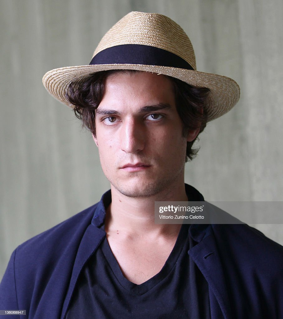 Actor <a gi-track='captionPersonalityLinkClicked' href=/galleries/search?phrase=Louis+Garrel&family=editorial&specificpeople=868484 ng-click='$event.stopPropagation()'>Louis Garrel</a> poses for a portrait session during the 64th Festival del Film di Locarno on August 12, 2011 in Locarno, Ticino, Switzerland.