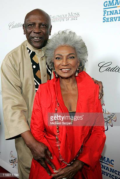Actor Louis Gossett Jr and actress Nichelle Nichols arrives to The Thelonious Monk Institute of Jazz and The Recording Academy Los Angeles chapter...