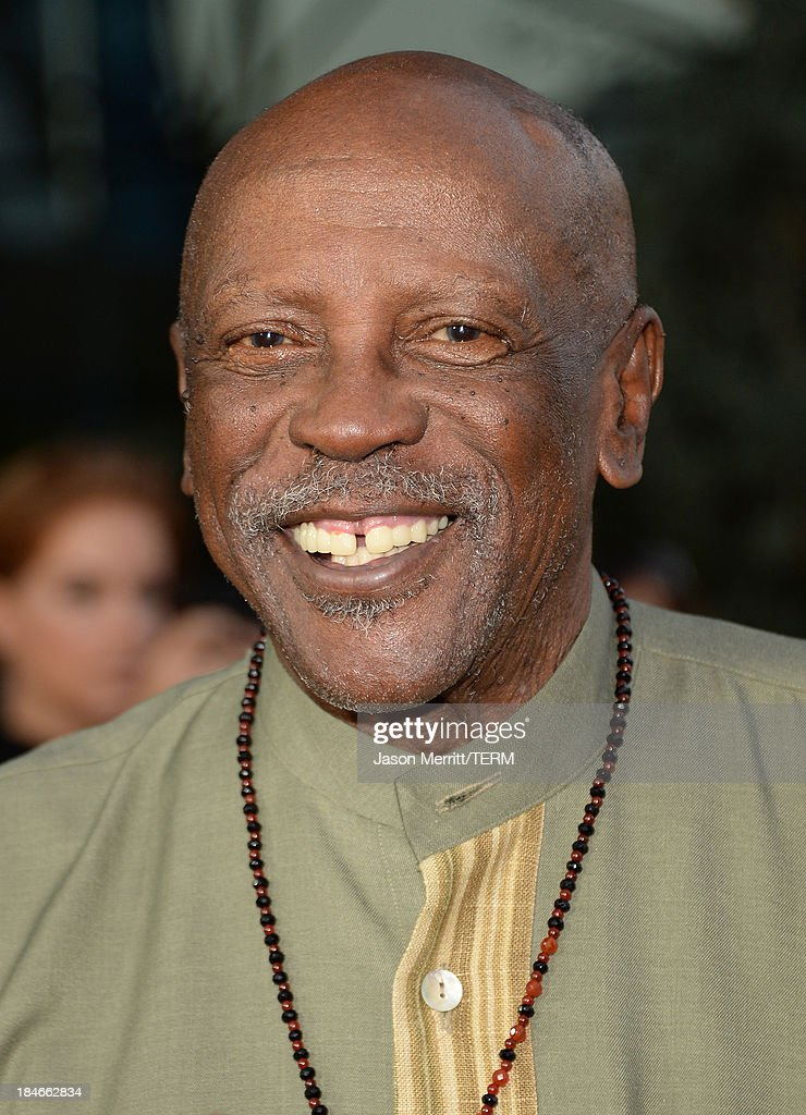 Actor Louis Gossett Jr. arrives at the Los Angeles premiere of '12 Years A Slave' at Directors Guild Of America on October 14, 2013 in Los Angeles, California.
