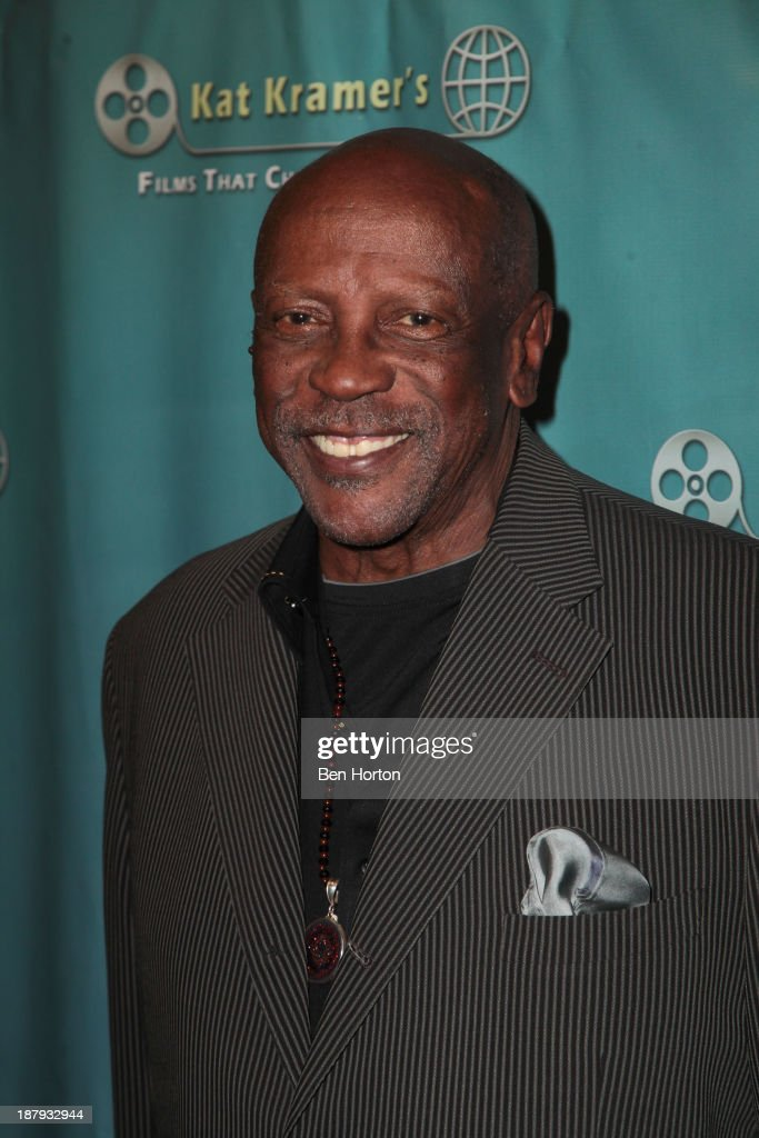 Actor Louis Gossett Jr attends Kat Kramer's Films That Change The World Film Series 5th Anniversary 'Fallout' Premiere at The Canon USA Inc Screening...