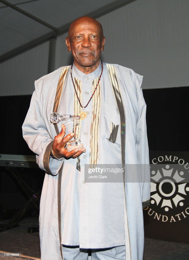 Actor Louis Gossett Jr. attends the 2nd annual Compound Foundation Fostering A Legacy Benefit on August 17, 2013 in East Hampton, New York.