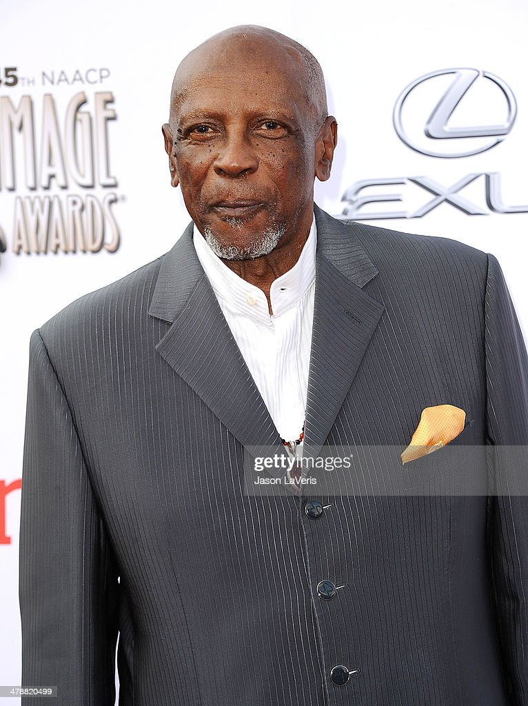 Actor Louis Gossett, Jr. attends the 45th NAACP Image Awards at Pasadena Civic Auditorium on February 22, 2014 in Pasadena, California.
