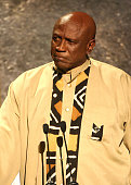 Actor Louis Gossett Jr on stage at The Thelonious Monk Institute of Jazz and The Recording Academy Los Angeles chapter honoring Herbie Hancock all...