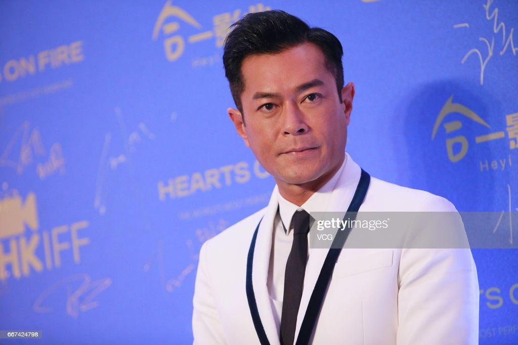 Actor Louis Koo attends the opening of the 41st Hong Kong International Film Festival at Hong Kong Cultural Centre on April 11, 2017 in Hong Kong, China.
