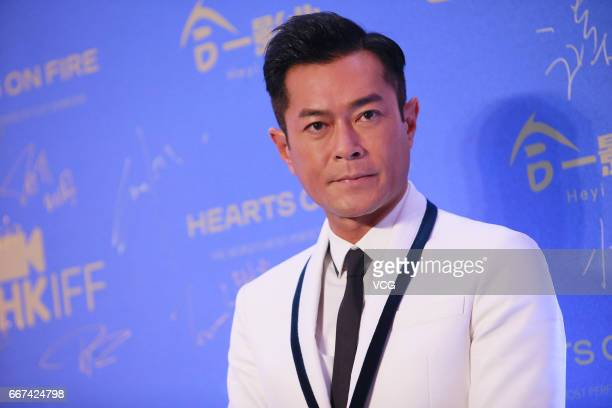 Actor Louis Koo attends the opening of the 41st Hong Kong International Film Festival at Hong Kong Cultural Centre on April 11 2017 in Hong Kong China