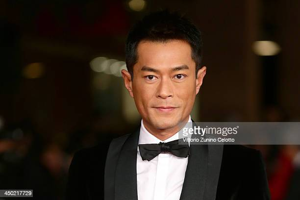 Actor Louis Koo attends the 'Sou Duk' Premiere during The 8th Rome Film Festival at Auditorium Parco Della Musica on November 17 2013 in Rome Italy