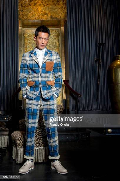 Actor Louis Koo poses for the 'The White Storm' Portrait Sesssion during The 8th Rome Film Festival on November 17 2013 in Rome Italy