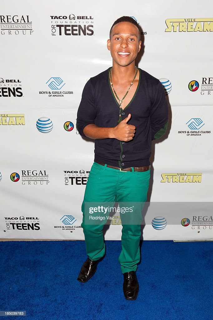 Actor Louis Stancil attends 'The Stream' Premiere benefiting Boys & Girls Clubs of America at Regal 14 at LA Live Downtown on October 16, 2013 in Los Angeles, California.