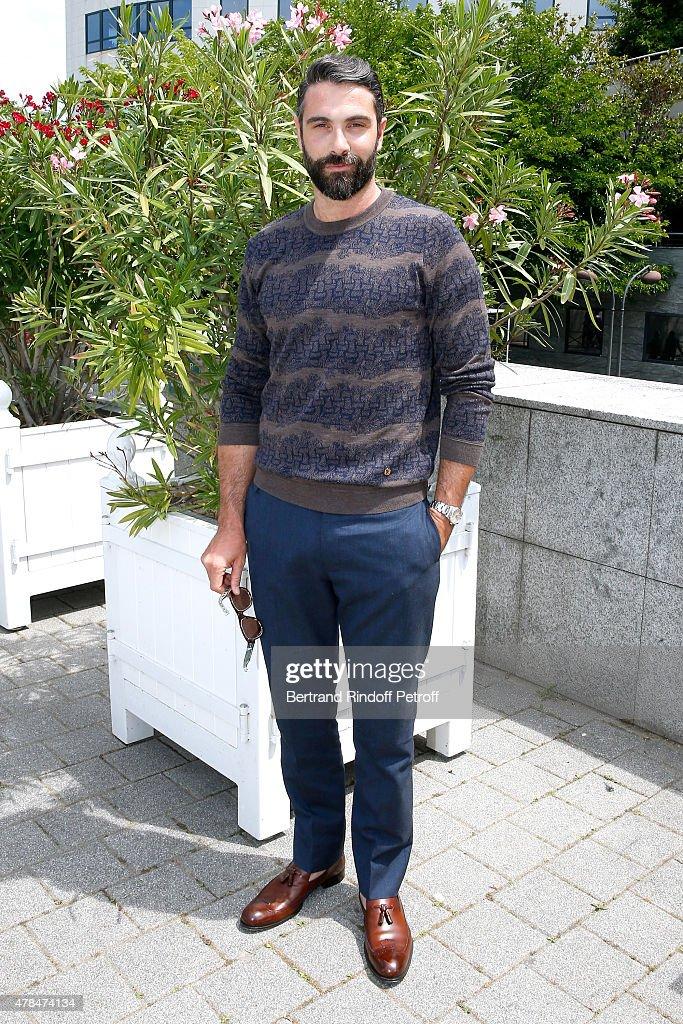Louis Vuitton : Outside Arrivals  - Paris Fashion Week - Menswear Spring/Summer 2016