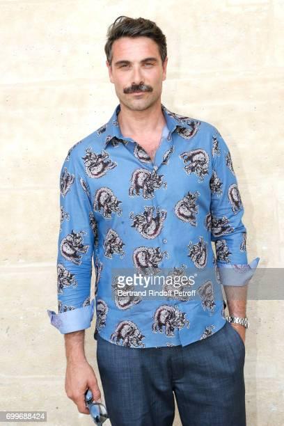 Actor Luca Calvani attends the Louis Vuitton Menswear Spring/Summer 2018 show as part of Paris Fashion Week on June 22 2017 in Paris France