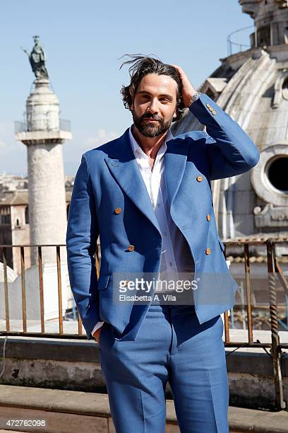 Actor Luca Calvani attends 'The Man From UNCLE' Photocall at Terrazza Civita on May 9 2015 in Rome Italy