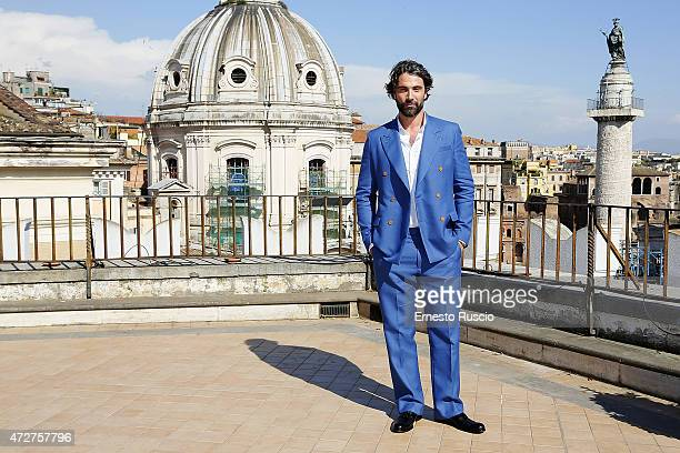 Actor Luca Calvani attends the 'The Man From UNCLE' photocall at Civita on May 9 2015 in Rome Italy