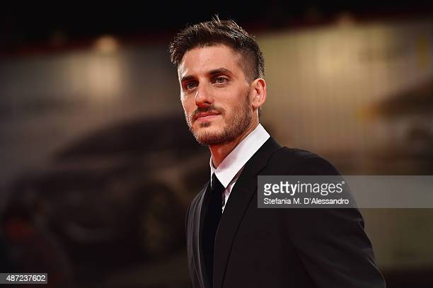 Actor Luca Marinelli attends a premiere for 'Don't Be Bad' during the 72nd Venice Film Festival at Palazzo del Casino on September 7 2015 in Venice...