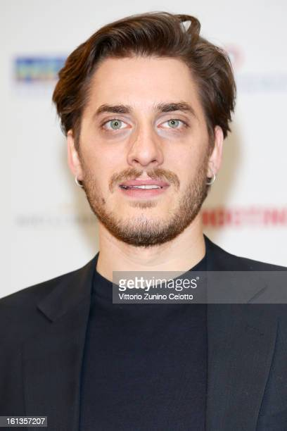 Actor Luca Marinelli attends Shooting Stars 2013 during the 63rd International Berlinale Film Festival at Hotel de Rome on February 10 2013 in Berlin...