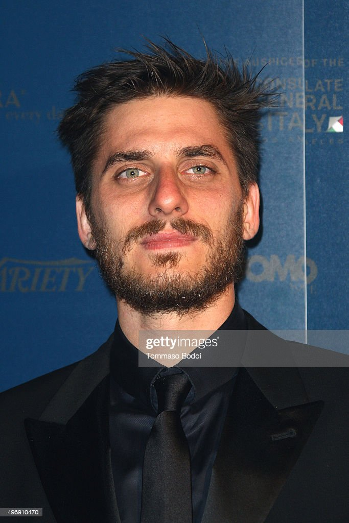 Actor <a gi-track='captionPersonalityLinkClicked' href=/galleries/search?phrase=Luca+Marinelli&family=editorial&specificpeople=7179366 ng-click='$event.stopPropagation()'>Luca Marinelli</a> attends the 11th Cinema Italian Style opening night screening of 'Don't Be Bad' held at the Egyptian Theatre on November 12, 2015 in Hollywood, California.