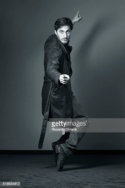 Actor Luca Marinelli is photographed for Self Assignment on February 17 2016 in Berlin Germany