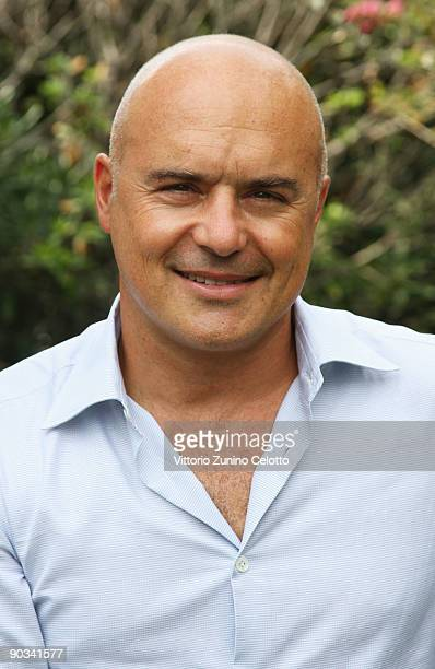 Actor Luca Zingaretti attends the 'L' Amore E Basta' photocall at the Villa Degli Autori during the 66th Venice Film Festival on September 4 2009 in...