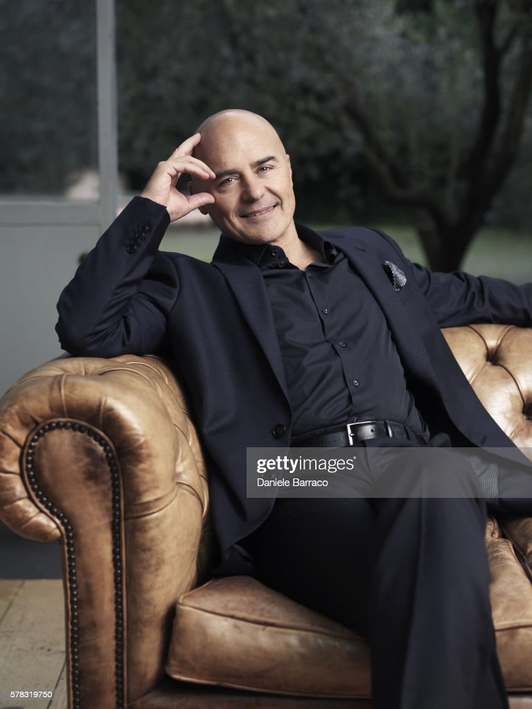 Actor Luca Zingaretti is photographed for Self Assignment in 2010.