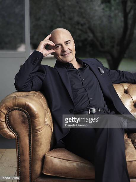 Actor Luca Zingaretti is photographed for Self Assignment in 2010