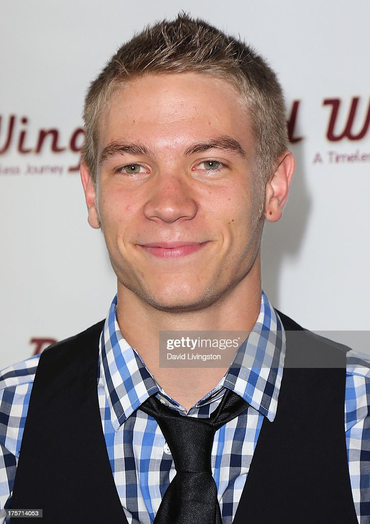 Actor Lucas Adams attends a screening of Integrity Film Production's 'Red Wing' at Harmony Gold Theatre on August 6, 2013 in Los Angeles, California.