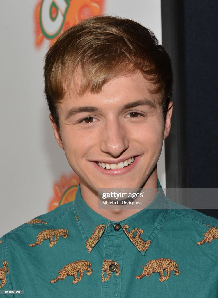 Actor Lucas Cruikshank arrives to the premiere of Paramount Pictures' 'Fun Size' at Paramount Theater on the Paramount Studios lot on October 25, 2012 in Hollywood, California.