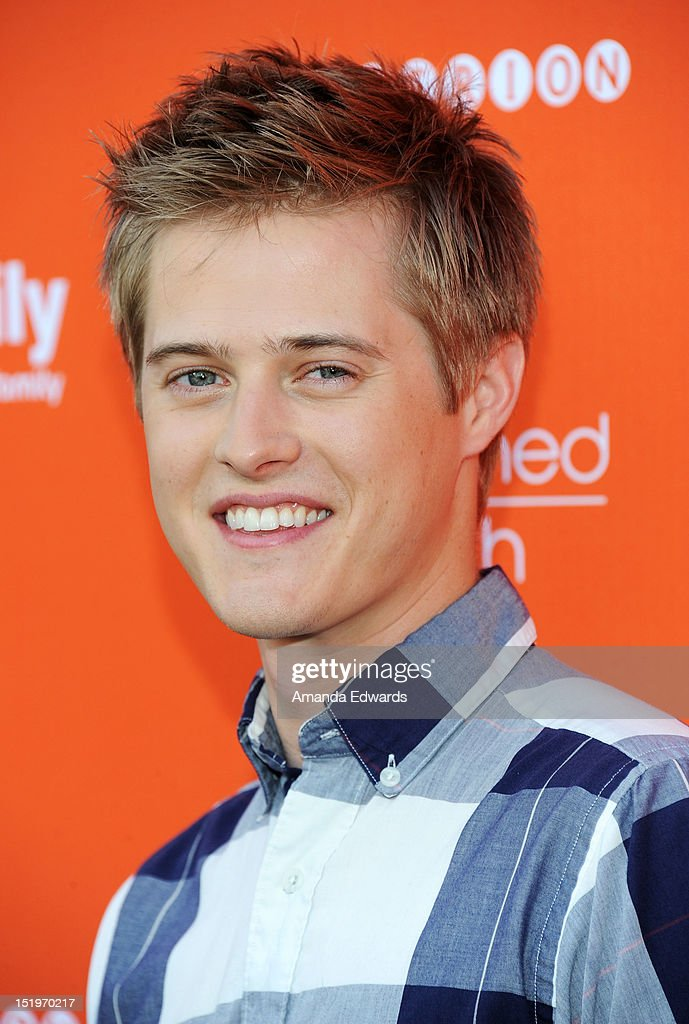 Actor Lucas Grabeel arrives at ABC Family's 'Switched At Birth' Fall Premiere Book Launch Party at The Redbury Hotel on September 13 2012 in...