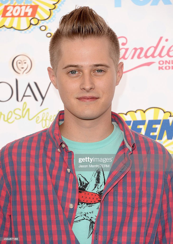 Actor Lucas Grabeel attends FOX's 2014 Teen Choice Awards at The Shrine Auditorium on August 10 2014 in Los Angeles California