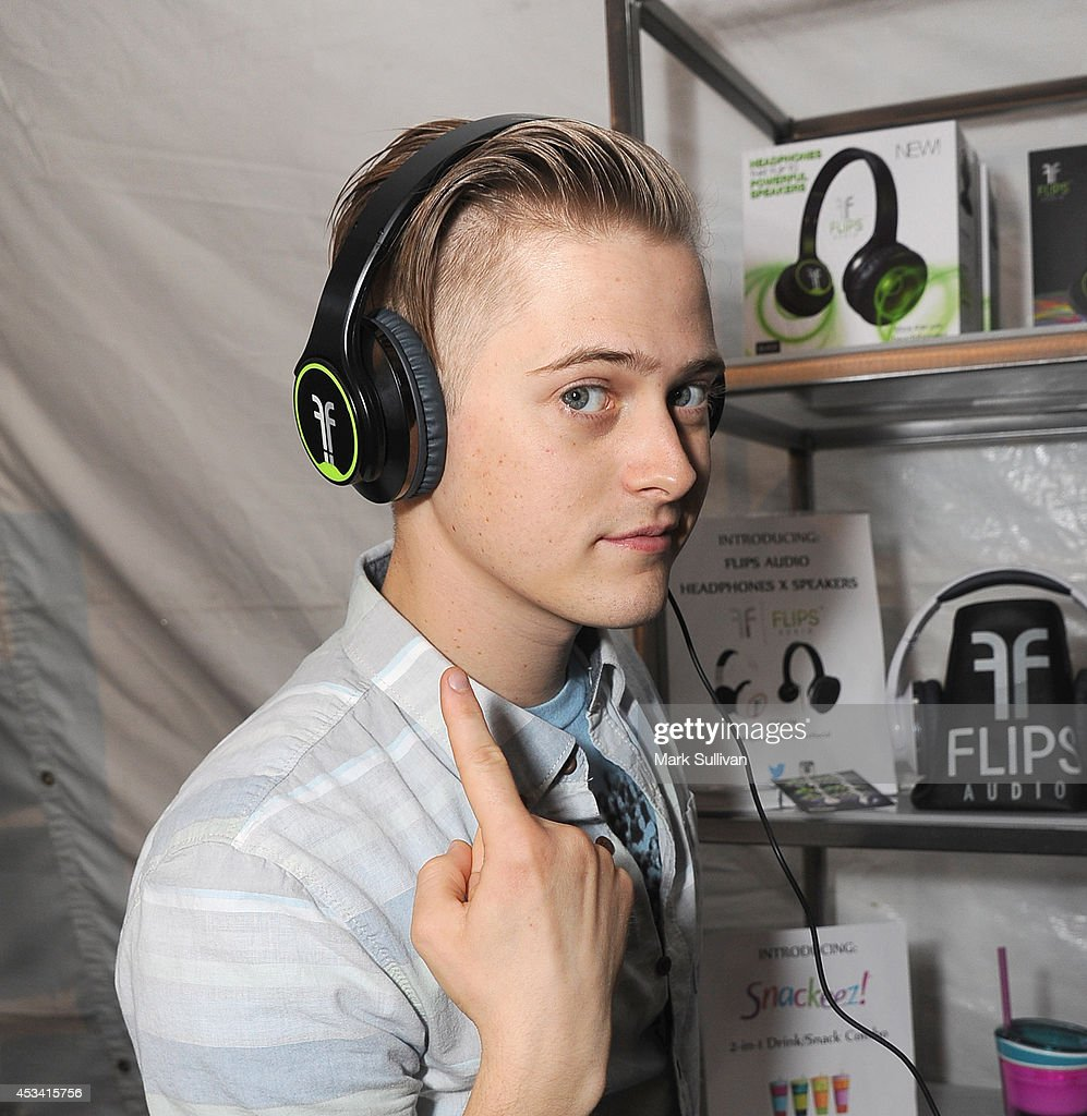 Actor Lucas Grabeel attends the Backstage Creations Celebrity Retreat at Teen Choice 2014 Day 1 on August 9 2014 in Los Angeles California