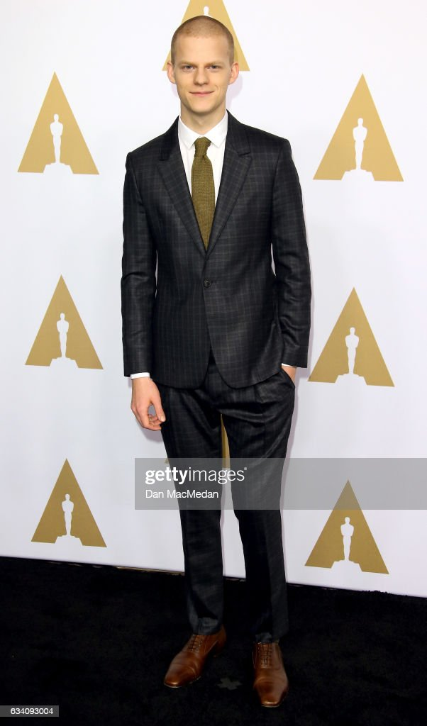 Actor Lucas Hedges arrives at the 89th Annual Academy Awards Nominee Luncheon at The Beverly Hilton Hotel on February 6, 2017 in Beverly Hills, California.