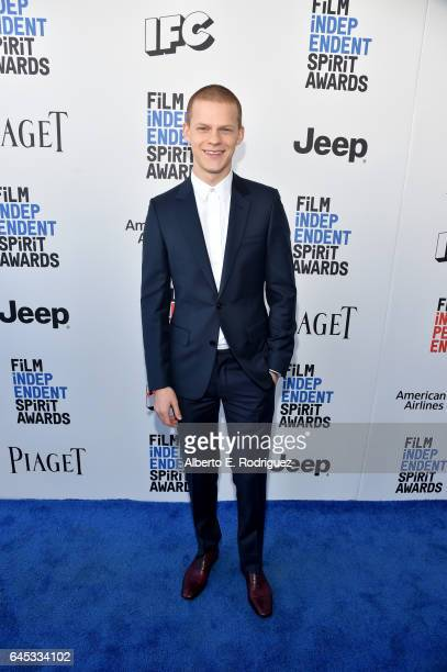 Actor Lucas Hedges attends the 2017 Film Independent Spirit Awards at the Santa Monica Pier on February 25 2017 in Santa Monica California