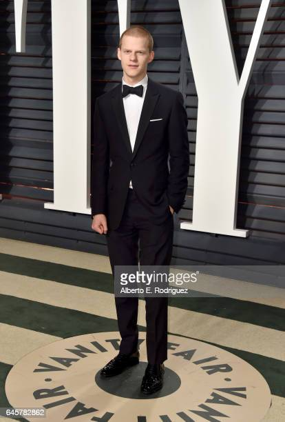 Actor Lucas Hedges attends the 2017 Vanity Fair Oscar Party hosted by Graydon Carter at Wallis Annenberg Center for the Performing Arts on February...
