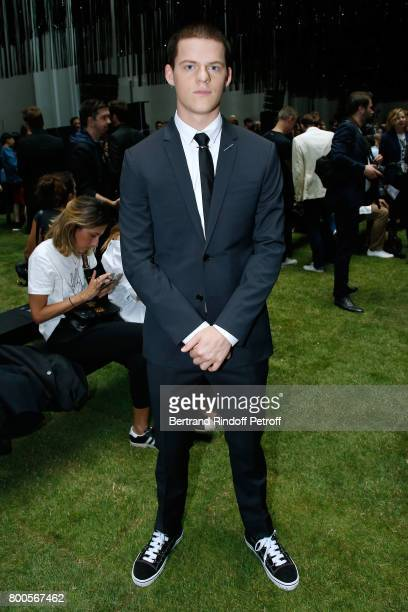Actor Lucas Hedges attends the Dior Homme Menswear Spring/Summer 2018 show as part of Paris Fashion Week on June 24 2017 in Paris France