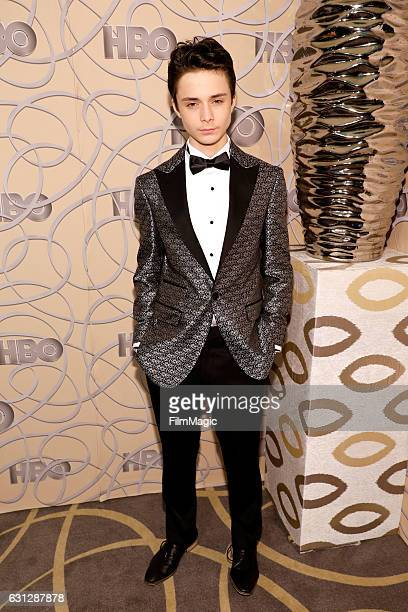 Actor Lucas Jade Zumann attends HBO's Official Golden Globe Awards After Party at Circa 55 Restaurant on January 8 2017 in Beverly Hills California