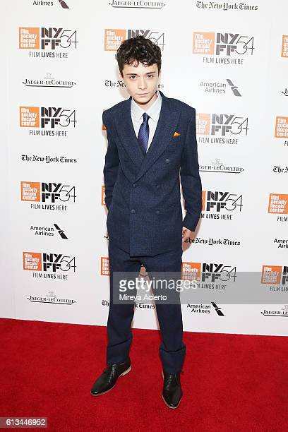 Actor Lucas Jade Zumann attends the premiere of '20th Century Women' at the 54th New York Film Festival on October 8 2016 in New York City