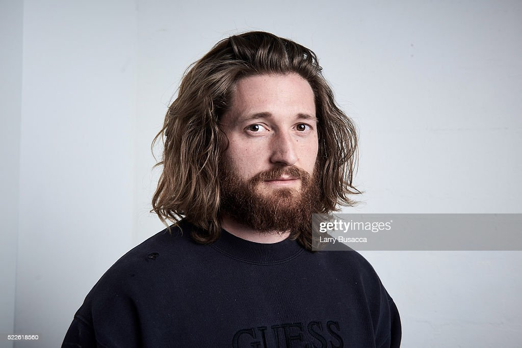 Actor Lucas Neff from 'Fear, Inc.' poses at the Tribeca Film Festival Getty Images Studio on April 17, 2016 in New York City.