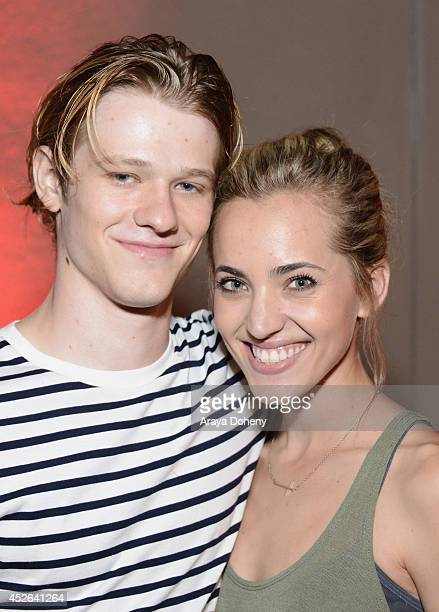 Actor Lucas Till and guest attend IGN 'Sin City A Dame to Kill For' ComicCon International Party during ComicCon International 2014 at Hard Rock...