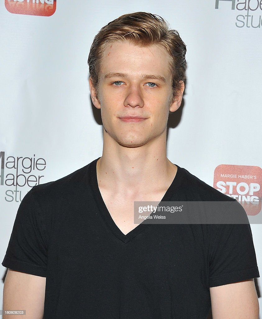 Actor <a gi-track='captionPersonalityLinkClicked' href=/galleries/search?phrase=Lucas+Till&family=editorial&specificpeople=5655053 ng-click='$event.stopPropagation()'>Lucas Till</a> arrives at Margie Haber Studio's 'Stop Acting App: The Audition Class with Margie Haber' release launch party at Aventine Hollywood on September 17, 2013 in Hollywood, California.
