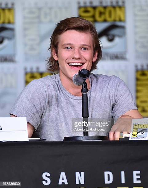 Actor Lucas Till attends CBS Television Studios Block Including 'Scorpion' 'American Gothic' And 'MacGyver' during ComicCon International 2016 at San...